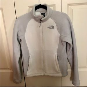 North Face full zip fleece size extra small